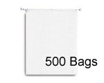 16x18 + 3 Draw Cord, 500 Bags