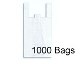 12x7x22 (Standard Grocery Size) T-Shirt, 1000 Bags