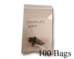 6x9 WB (.002) Zip Close, 100 Bags