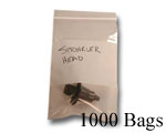 2x3 WB (.002) Zip Close, 1000 Bags