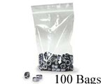 7x5 (.004) Zip Close Poly, 100 Bags